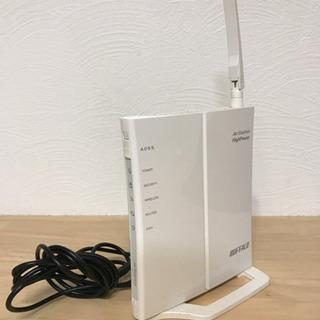 バッファロー  Wi-Fi ルーター