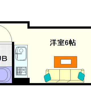 【ソシオコート難波】3号タイプ!1Rタイプ!めずらしいレディース...