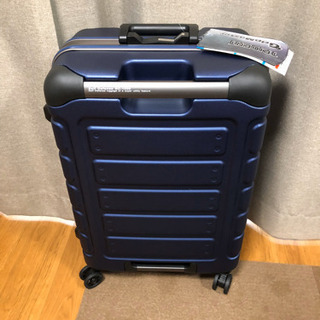【トライデント】スーツケース(TRI1008)ネイビーブルー 未使用品