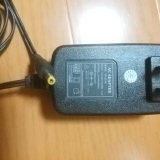 ACアダプター 12V 1.2A 1200mA φ4.0㎜ ブラック
