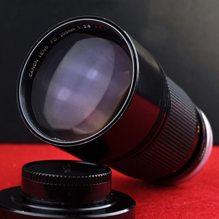 Canon FD 200mm F2.8 s.s.c.(動作確認済)
