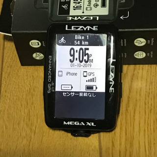サイクルコンピュータ LEZYNE MEGA XL