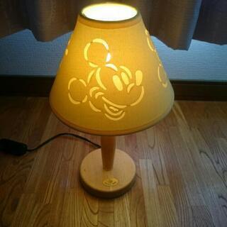 ミッキーマウス♪電気スタンド☆イエロー