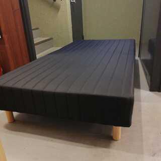 シングルベッド 黒
