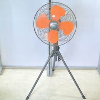 45㎝工業用扇風機 スタンド式 オレンジ PM-450S 100...