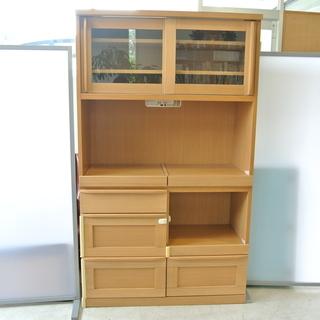 炊飯器や電子レンジを置けるキッチン棚 河口家具のオープンボード ...