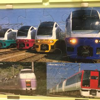 くもん パズル 24ピース 電車