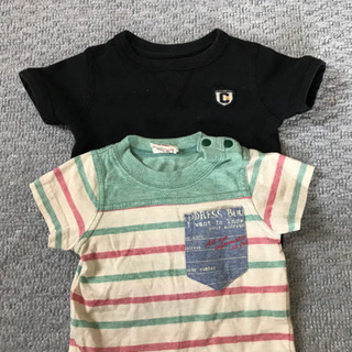 Tシャツ2枚セットの画像