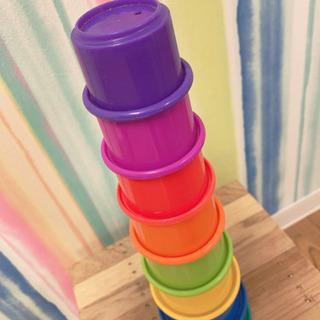 カップタワー、木のコマ、鈴♡、baay歯固めボール