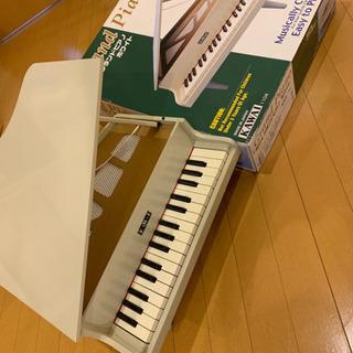 オモチャのピアノですが