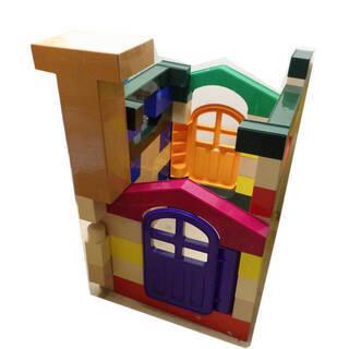 ピープル製 1才から積める、遊べる、体感ブロック 大きなブロック...
