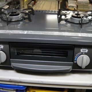 2018年製 リンナイ LPガスステーブル KGM563DGR 右強火 水無し片面グリル プロパンガス ガス台 ガス調理器具 未使用品の画像