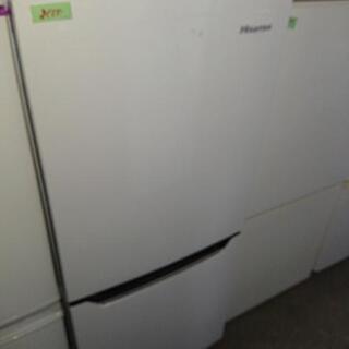 2ドア冷凍冷蔵庫⑫
