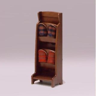 新品 スリッパラック 玄関収納 木製