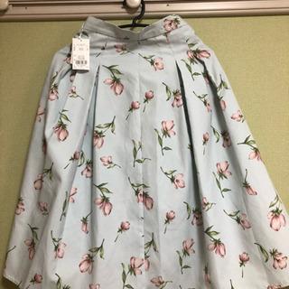 Dazzlin花柄スカート