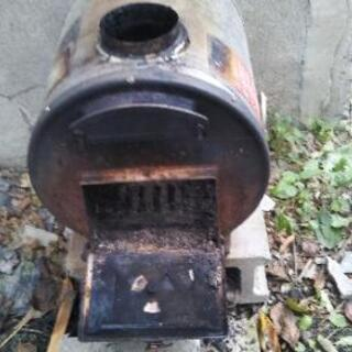 薪、油兼用風呂釜