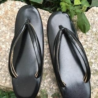 和装 ぞうり 草履 黒 22センチ