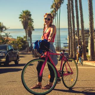 自転車ラフスタイル !