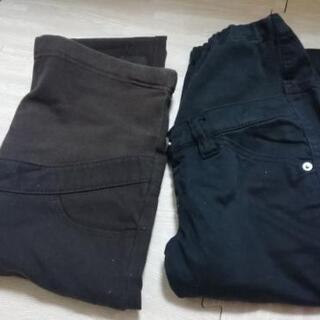 マタニティーパンツ 黒 Sサイズ