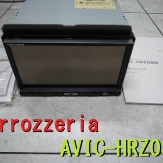 カロッツェリア AVIC-HRZ088 作動確認済み 本体のみ ...