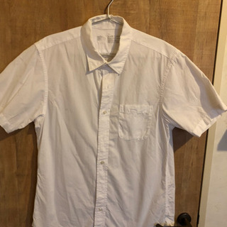 値下げしました!【無印良品】メンズ半袖シャツ
