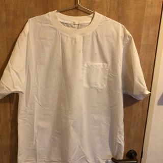 GU メンズ白シャツ