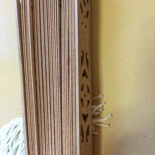 木の扇子 - 生活雑貨