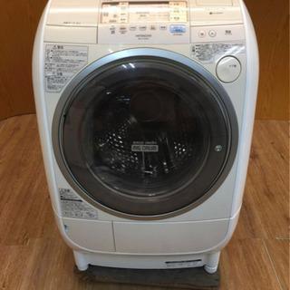 HITACHI ビッグドラム洗濯乾燥機(9kg/6kg)風アイロ...