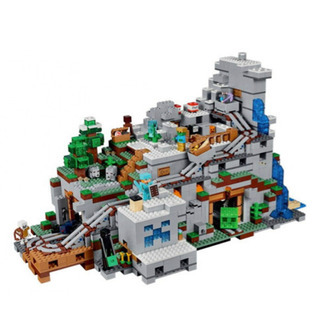 レゴ互換 マインクラフト LEGO 山の洞窟