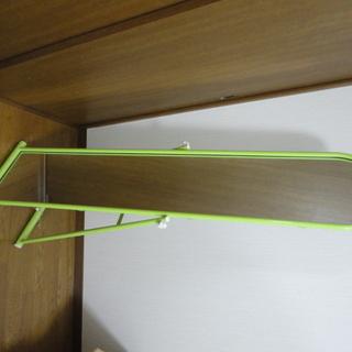 美品 スタンドミラー 全身鏡 グリーン 幅38.5*高さ149cm