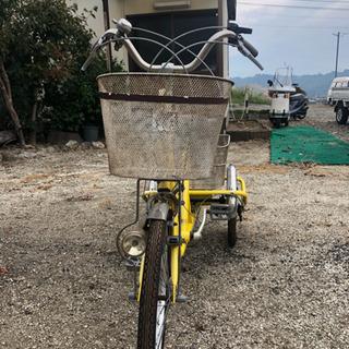 (商談中)引取り方限定  便利な三輪自転車