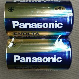 未使用 Panasonic 単1アルカリ電池