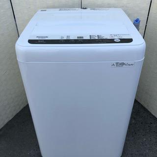 🌈2019年製‼️✨Panasonic5kg洗濯機☝️😍