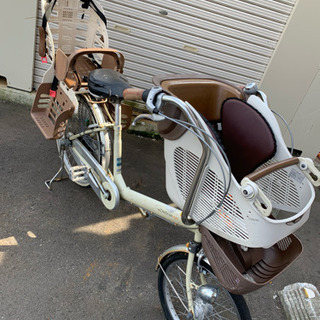 子ども乗せ自転車 3人乗り対応