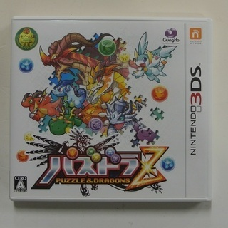 ★3DS パズドラZ 動作品 冒険パズルRPG★