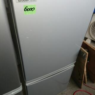 シャープノンフロン冷凍冷蔵庫㋑