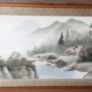 日本画 竹洞