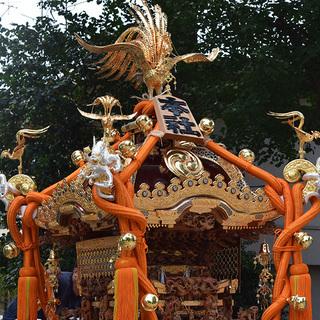 奉祝 即位礼◎北澤八幡神社宮神輿渡御