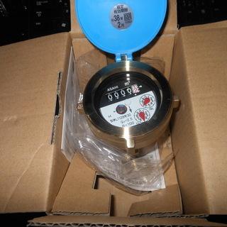 乾式水道メーター 接線流 単箱型 新品 未使用 13mm 取り付...