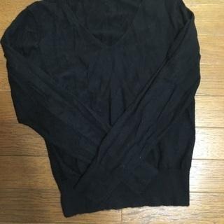 UNIQLO カシミヤ100%  ブラック セーター レデ…
