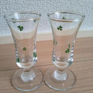無料!!【中古】スコットランド製グラス2個組