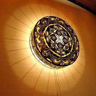 バリ 壁掛け 照明 ウォールランプ エスニック アジアン 新品未使用