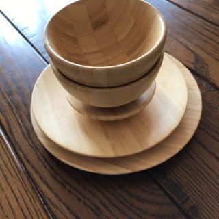 ベビー食器 木製 お食い初め