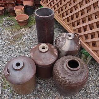 福島県発 中島村発 焼酎瓶など 大量まとめて5個 ガーデニング ...