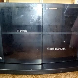 ナショナル製 TY-S32WG20 32Vクラス用 大型テレビ台 黒