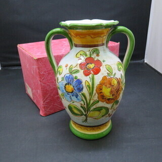 未使用 長期保管品 ポンテ 花瓶 壺 イタリア製
