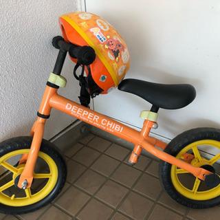 ストライダー☆DEEPER CHIBIとヘルメット