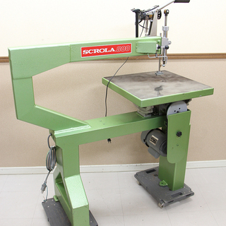 SCROLA800 スクローラ 800 旭工機 糸鋸盤 糸のこ盤...