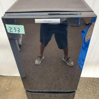 233番 MITSUBISHI✨ノンフロン冷凍冷蔵庫❄️MR-P...