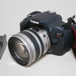 EOS kiss X5 Canon 中古 ズームレンズセット 2...
